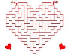 * doolhof valentijn