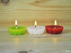 How to Make Candle Tarts via wikiHow.com #DIY #easy