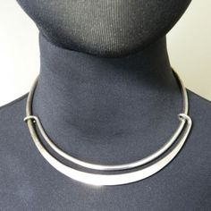 Hans Hansen Denmark sterling silver necklace