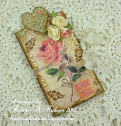Heather does fab shabby chic paper crafts! lizzyjanes1111