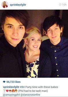Dan, Louise, and Phil!