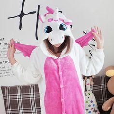 2016 Unicorn pijamas pijamas adultos Animal Cosplay niños franela caliente pijama de dibujos animados siamés familia equipado pijamas para mujeres / hombres