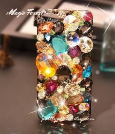 iphone 5 case  iphone 5 cover iphone 5 cases iphone 5 flowing light and color diamond iPhone 5 Case. $28.00, via Etsy.