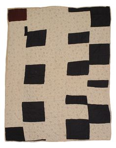 Quilts made in the 50's by African-American worker and quiltmaker Susana Allen Hunter (1912 – 2005), now @ The Henry Ford Museum.