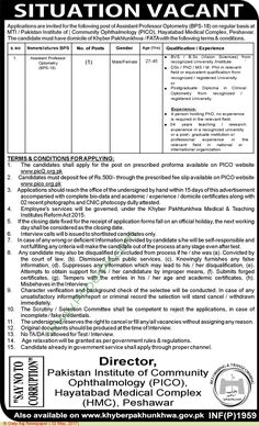 Jobs For Chemist  Assistant Chemist In Director General Hda
