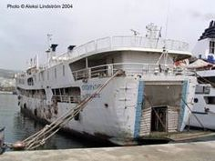 F/B Elli - Piraeus Ferry Boat, Paros, Over The Years, Abandoned, Boats, Cruise, Ship, Vintage, Cruises