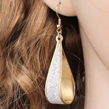 Silver Shinning GoldPlated Drop Dangle Earrings For Women Girls Best Gift Fashion Earrings, Women's Earrings, Fashion Jewelry, Jewelry Gifts, Jewelery, Wedding Earrings Drop, Ear Studs, Dangles, Women Jewelry