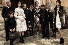 I love the latest Dolce and Gabbana ad campaigns, the true dolce vita out of a Ettore Scola movie