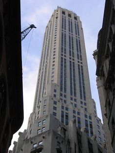 20 Exchange Place is a 59-floor Art Deco building in New York City. Formerly known as the City Bank-Farmers Trust Building, it was built between 1930–1931, for the newly merged National City Bank of New York and the Farmers' Loan and Trust Company, predecessor firms of Citigroup. It remained the company's headquarters until 1956 and was ultimately sold in 1979.