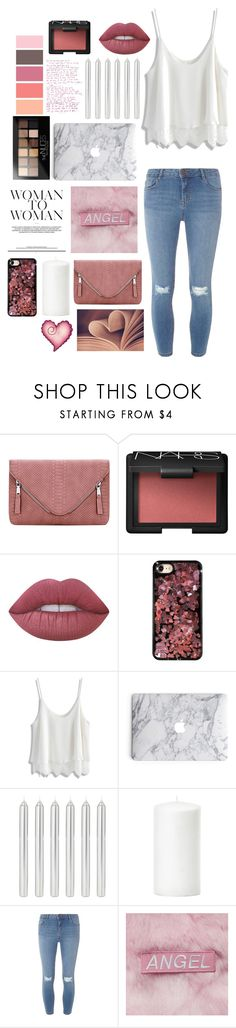"""""""Sans titre #98"""" by forever-219 ❤ liked on Polyvore featuring NARS Cosmetics, Lime Crime, Chrome Hearts, Chicwish, Dorothy Perkins and Maybelline"""