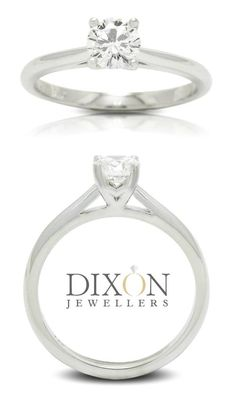 Custom Classic Diamond Solitaire Engagement Ring by Dixon Jewellers Canadian Diamonds, Solitaire Engagement, Ottawa, Jewels, Gemstones, Classic, Derby, Jewerly, Gems