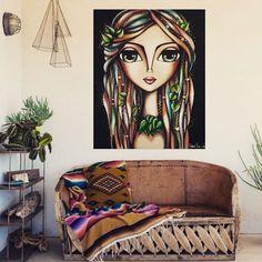 "Diferentes ambientes para ""ForestWoman"" serie ""Dreadlocks"" 💟☮ ( obra disponible ) . . . #SoyRomiLerda #dreadlocks #Argentina #italia #españa #colombia #mexico #miami #brasil #chile #uruguay #arte #art #galeriadearte #galleryart #love #occhi #eyes #ojos #woman #donna #obrasdearte #arteargentina #canvas #artstudio #artwork #painting Canvas Painting Tutorials, Block Painting, Painting Of Girl, Pop Art Face, Floral Illustrations, Illustration Art, Modern Drawing, Frida Art, Madhubani Art"