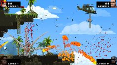 RFMag checks out the latest build of Broforce by FreeLives live at Pax South Expo Center Norte, Pax South, Ps Plus, Show, Free Games, Pixel Art, Indie, Entertaining, Canning