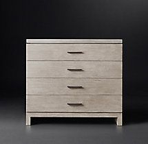 Meade 4-Drawer Dresser with Concrete Top