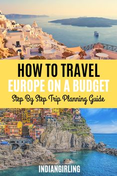 wanderlust europe A step by step guide to planning a trip to Europe on a budget from finding the right itinerary ideas to budgeting to packing and finally booking your trip. Packing For Europe, Europe On A Budget, Europe Travel Tips, Travel Advice, Budget Travel, Travel Guides, Places To Travel, Travel Destinations, Travel Hacks