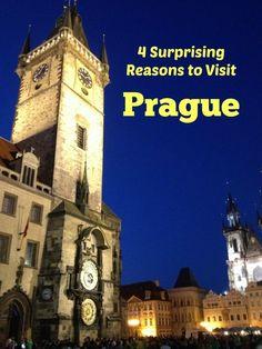4 Surprising Reasons to Visit Prague - Traveling Mom Prague Travel Guide, Europe Travel Guide, Europe Destinations, Travel Guides, European Travel, Euro Travel, Travel Wall, Visit Prague, Best Places To Travel