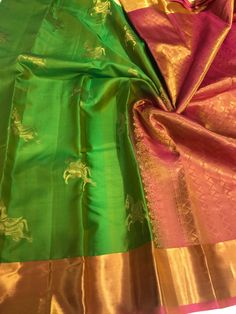 Silk is back in trend ! Matching blouse in silk. 4 different color combinations are available. Perfect to wear to the wedding . Comes with silk mark. Order quickly . Indian Sarees, Pure Silk, Color Combinations, Different Colors, Pure Products, Blouse, How To Wear, Wedding, Indian Saris