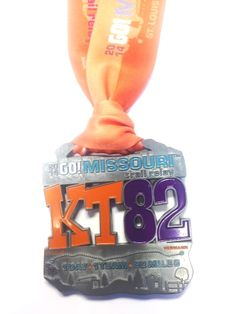 2014 KT82 Trail Relay Finisher Medal