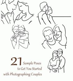21 Sample Poses to Get You Started with Photographing Couples