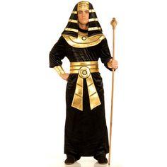 Amazon.com: Adult Original Royal Pharoah Costume (shoes, staff not included): Clothing