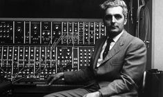 "published in the Los Angeles Times in 1981,   ""Synths of the fathers … Robert Moog in 1970. Photograph: Hilton Archive/Getty Images/Jack Robinson"""