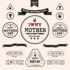 Vectors for Mother's day