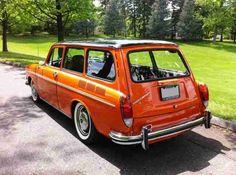 Super cool '73 VW Type III Squareback
