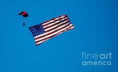 Floating Flag: See more images at http://robert-bales.artistwebsites.com/