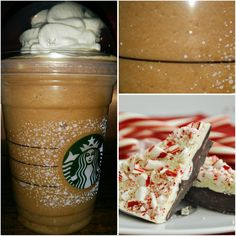 Just Added : *PEPPERMINT BARK FRAPPUCCINO* !! one of those holiday favorites we love for many reasons!