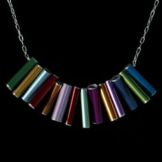 knitting needle jewelry by Amy Pfaffman, via Behance