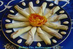 Biscotti ripieni alle #mandorle con #miele e #cannella!!