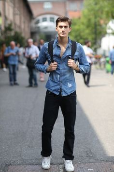 The Best of Street Style from Milan Men's Spring 2015 Shows | Day 3 | The Imprint