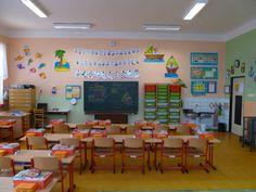 Námořnická1.B - přední část třídy. Detective, Classroom Organization, Kindergarten, Teacher, School, Home Decor, Classroom Setup, Professor, Decoration Home