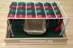 Africa Themed Fine Motor Trays — trilliummontessori.org