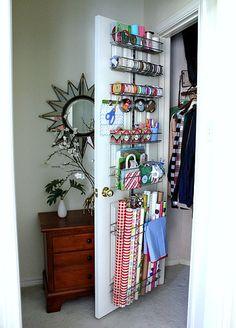hi sugarplum gift wrap station by hi sugarplum!, via Flickr