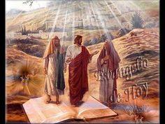 Domingo III de Pascua - 26 Abril-2020-A- - YouTube Lucas 24, Jesus Pictures, St Joseph, Jesus Christ, Saints, Painting, Art, Youtube, Blog