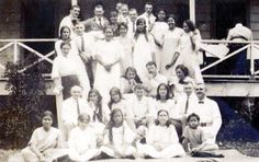 Aggie Grey is here somewhere as well as the Swann girls. ~ 1913