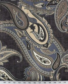 Asbury Indigo | Online Discount Drapery Fabrics and Upholstery Fabric Superstore!