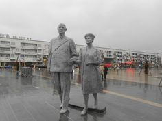 CIBOT, Charles de Gaulles et Yvonne née Verdoux, 2013, Calais.