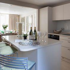 Küchen Küchenideen Küchengeräte Wohnideen Möbel Dekoration Decoration  Living Idea Interiors Home Kitchen   Weiß Offene Wohnküche