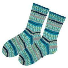 Socken stricken mit Käppchenferse stumpfe Sternspitze Größe 40 Anleitung Tutorial DIY