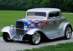 All American Flames Street Rod...Re-pin brought to you by agents at #HouseofInsurance #Eugene, Oregon for #carinsurance.