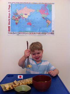 Around the World in 18 Breakfasts, Week 1: Japan - Tamagoyaki #funfoodforkids