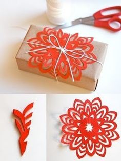 .Great wrapping idea! #diy