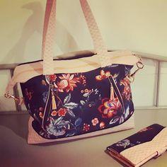 atelier_ophea Sac Java et son porte feuille assorti #sac #sacamain #sacotin #sacotinaddict #sacotinjava #faitmain #couture #cadeau