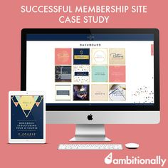 Successful membership site case study: http://ambitionally.com/increase-online-sales/creating-membership-sites/successful-membership-site/
