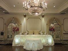 Wedding headtable design done through WEDS by Mega City #wedding #decor
