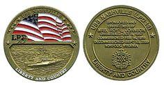 USS Nashville LPD 13 Decommission Coin Item #CC-866
