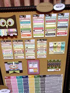 NEW Jillibean Soup CHA - Label and Alpha Stickers - Scrapbook.com