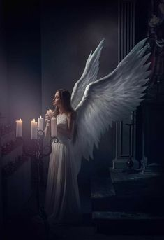 ☆Thankyou Jesus and Angel for your everlasting light and love Angel Images, Angel Pictures, Angels Among Us, Angels And Demons, Fantasy Magic, Fantasy Art, Angel Warrior, I Believe In Angels, Saint Esprit